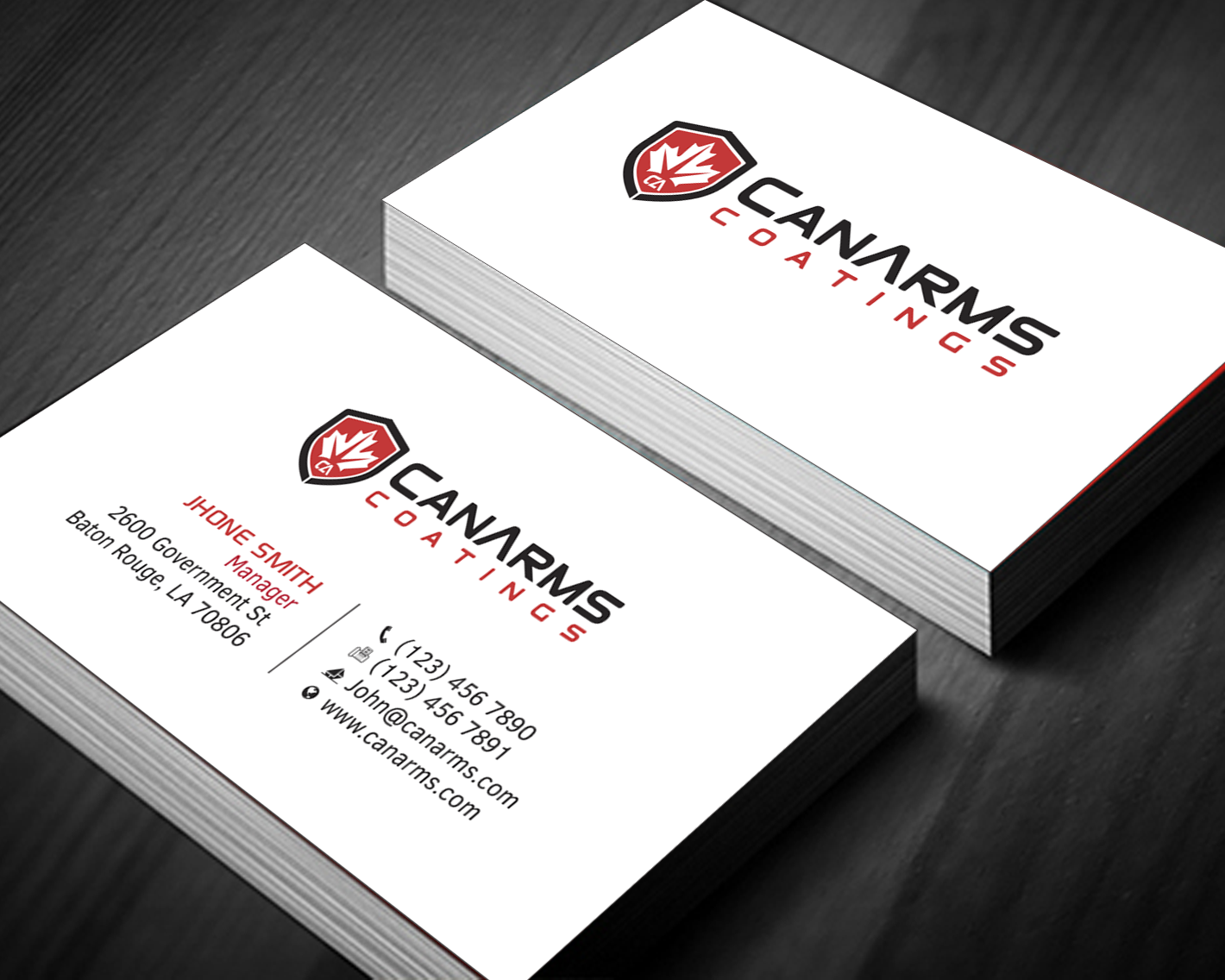 Upmarket Bold Business Business Card Design For A Company By Hr