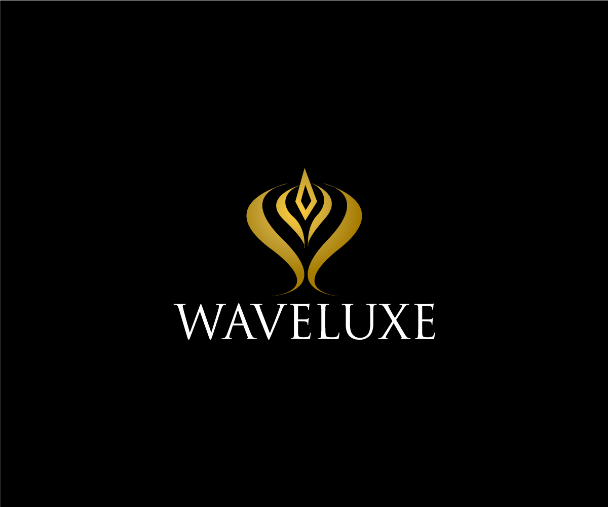 Elegant playful online logo design for waveluxe by for Logo creation wizard