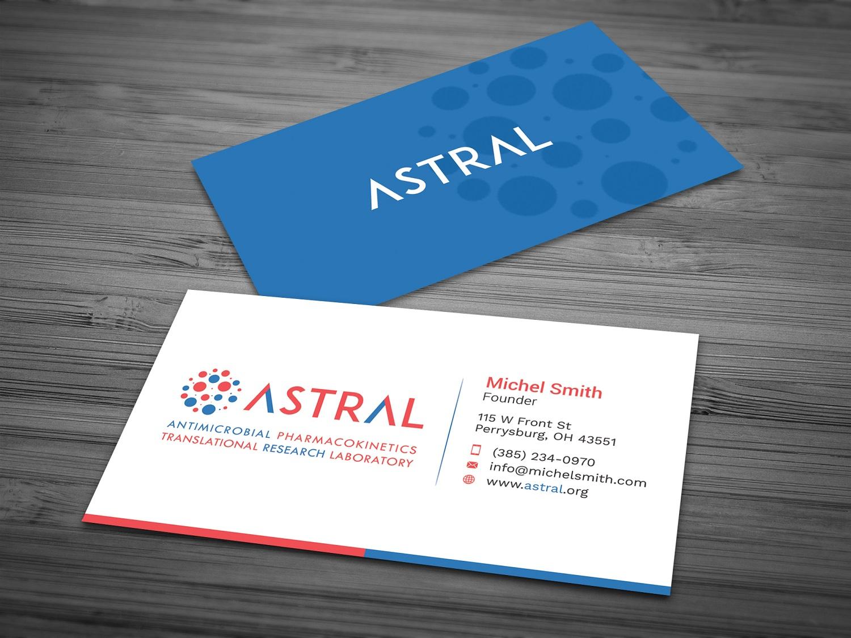 261 Feminine Business Card Designs | Pharmaceutical Business Card ...