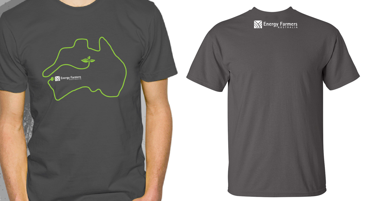 Modern personable agriculture t shirt design for energy for Design t shirts online australia