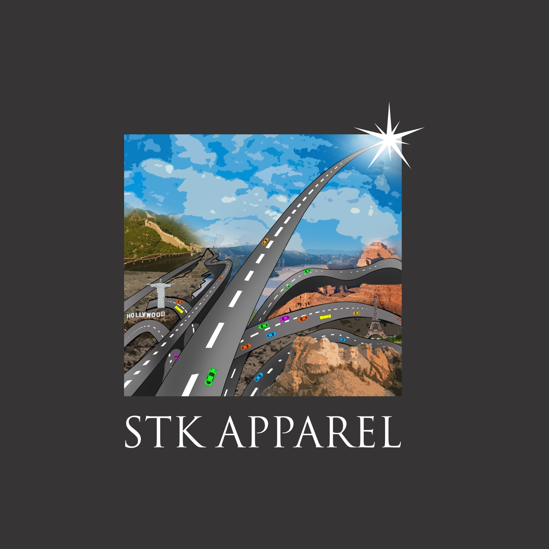 Modern Bold T Shirt Design For Stk Apparel By J Mahesh