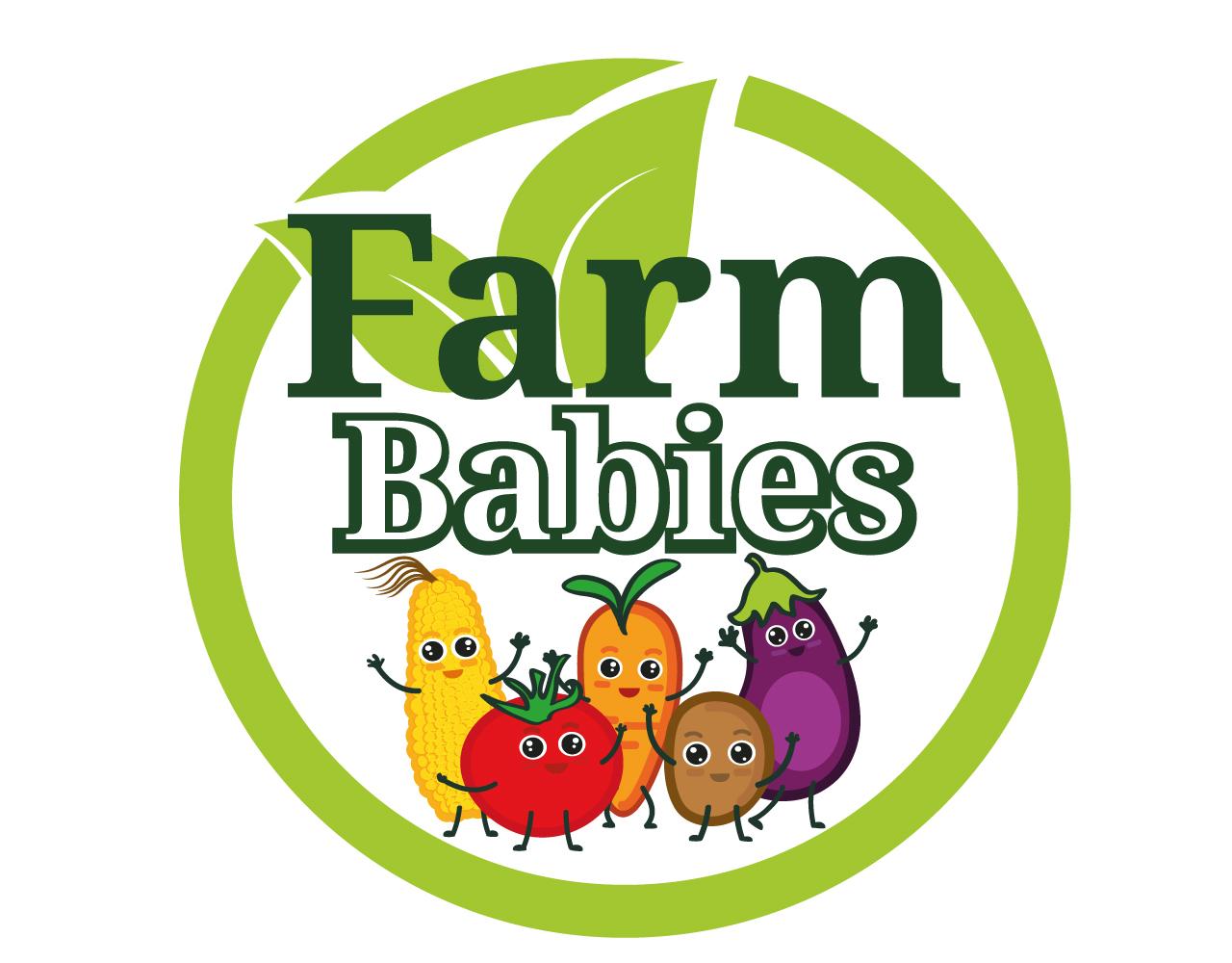 Micro-greens/vegetable farm Logo by pictaya