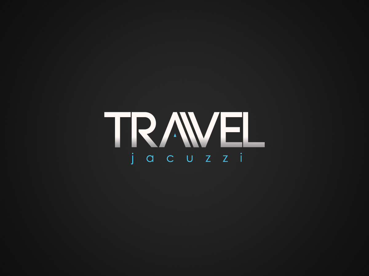 Upmarket, Modern, Travel Logo Design for TRAVEL JACUZZI by FDM ...