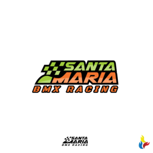 86 bold colorful logo designs for santa maria bmx racing a logo design design 16000577 submitted to bad ass santa maria bmx logo spiritdancerdesigns Choice Image