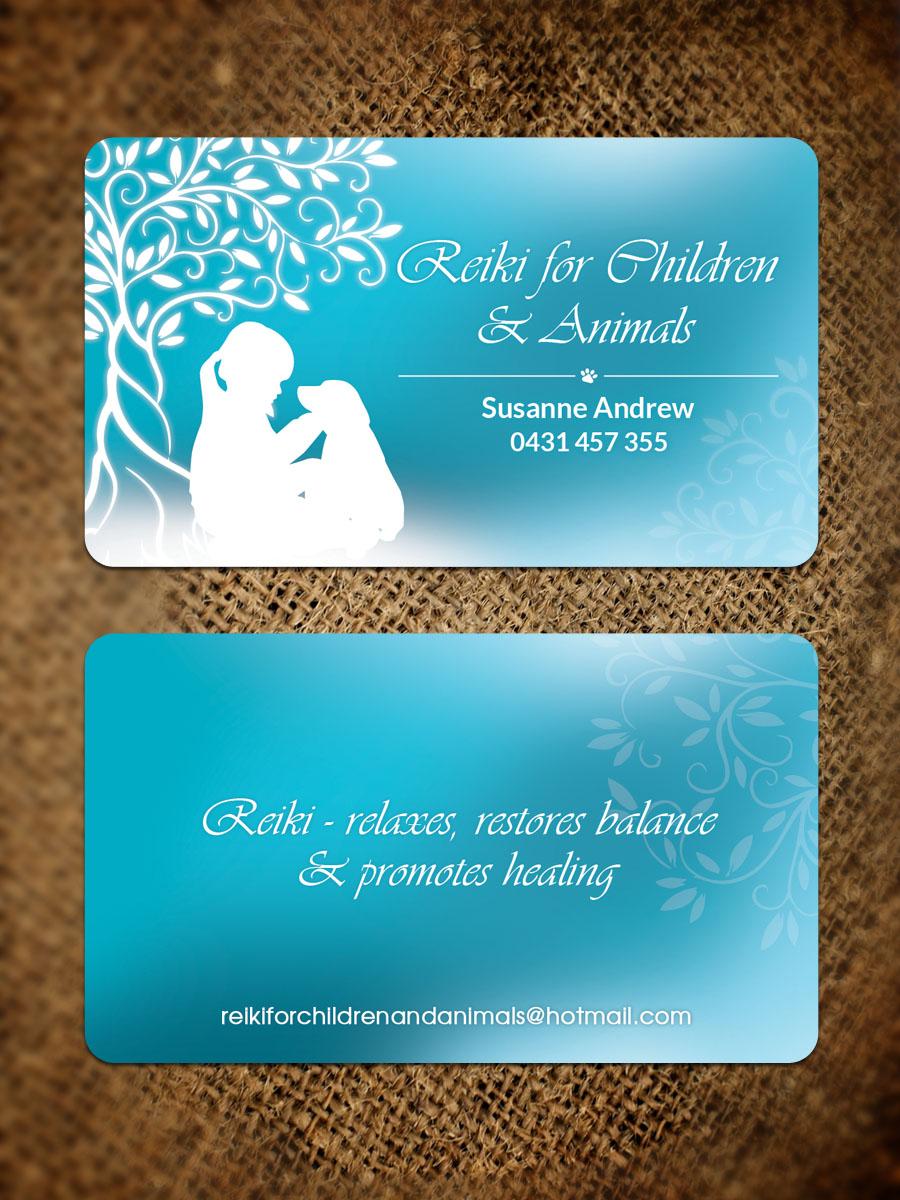 Business Card Design for Susanne Andrew by Sandaruwan | Design #16234575