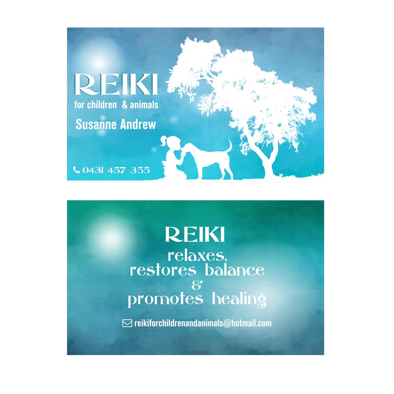 carte de visite reiki Design de Carte de Visite Business pour a Company par elveneclipse