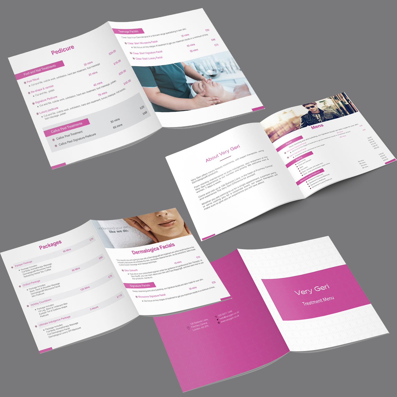 Upmarket, Elegant, Beauty Salon Brochure Design for a Company by ...