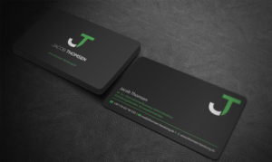 Professional Upmarket Consultant Business Card Design For