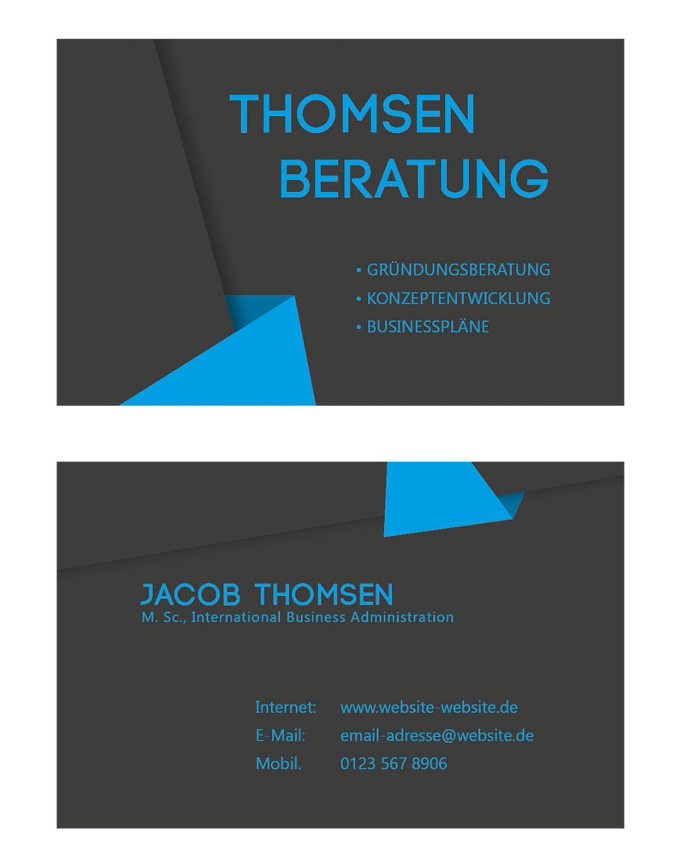 Design De Carte Visite Par OBLIVIONdesign Pour Ce Projet