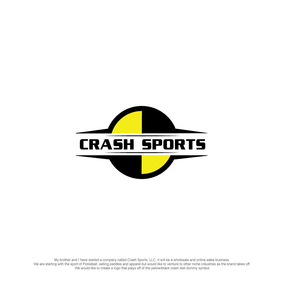 Modern feminine logo design for crash sports llc by esolz logo design by esolz technologies for international sports wholesale and online sales company needs a logo buycottarizona Gallery