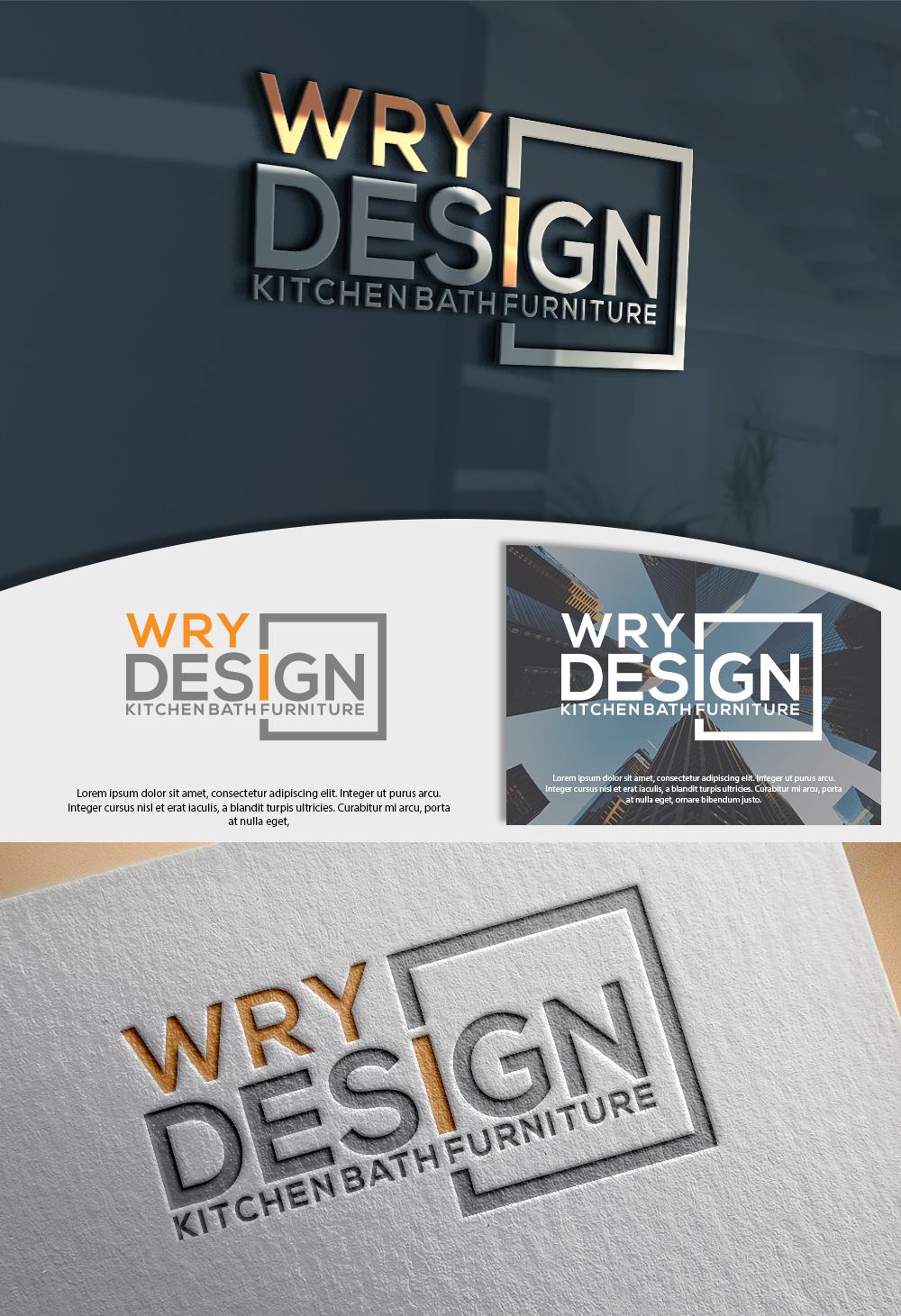 Upmarket, Serious, Woodworking Logo Design for wryDESIGN ...