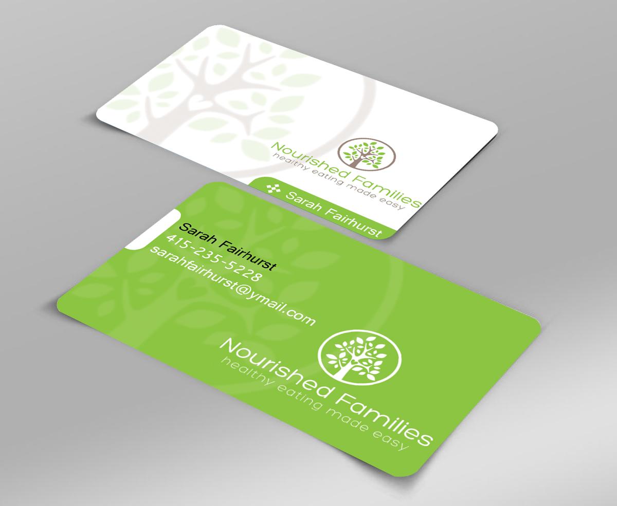86 elegant playful nutrition business card designs for a for Nutrition business cards