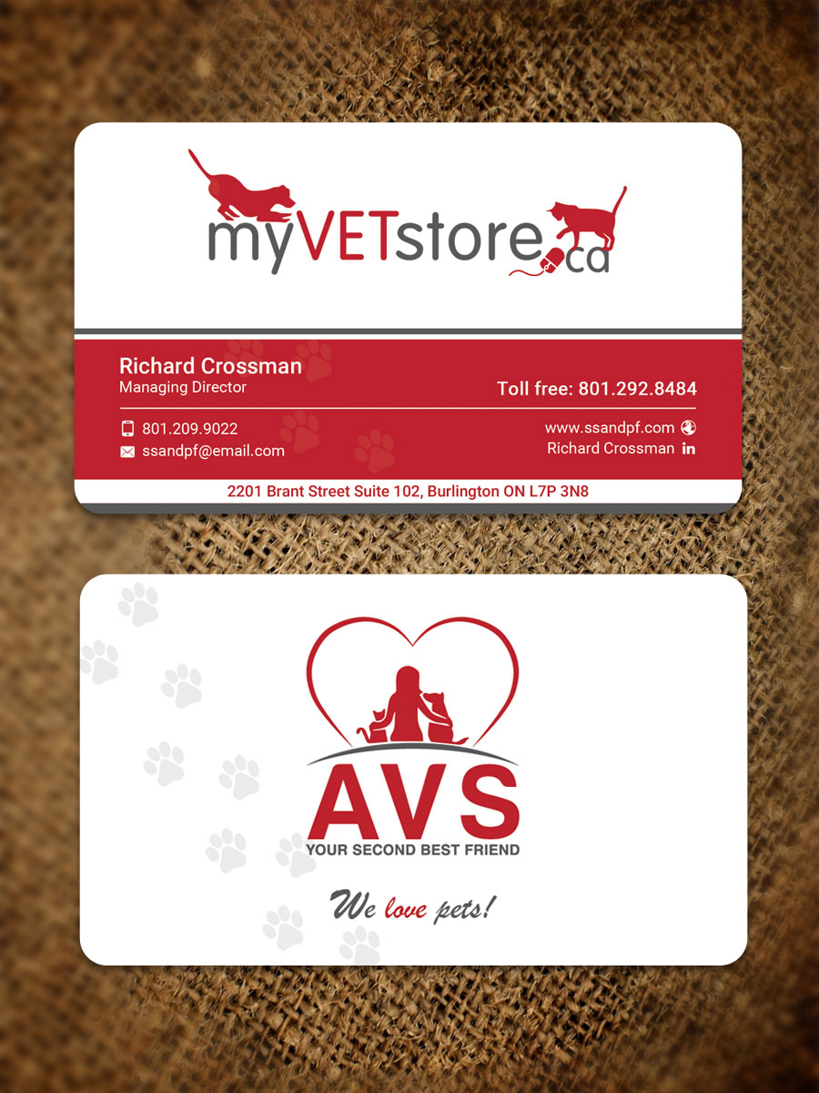 Free Business Card Veterinary Image collections - Card Design And ...