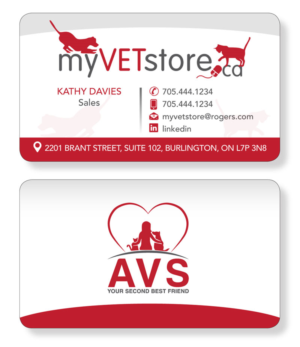 Veterinary business card designs 91 veterinary business cards to business cards for a company that provides webstore services to veterinarians business card design by colourmoves