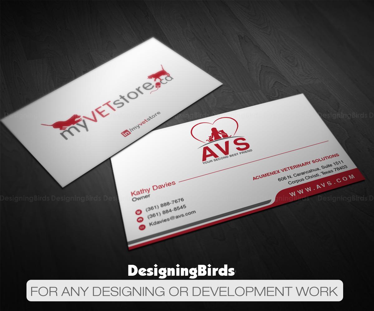 Business cards corpus christi arts arts bold playful veterinary business card design for aenex colourmoves