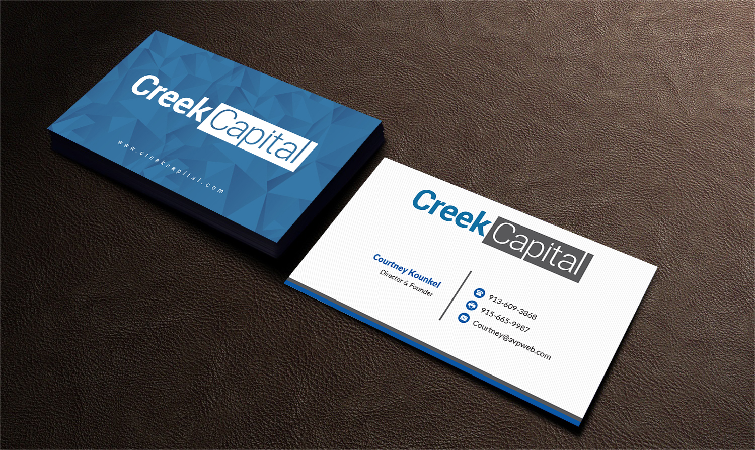 Serious, Traditional Business Card Design for Green Coast ...
