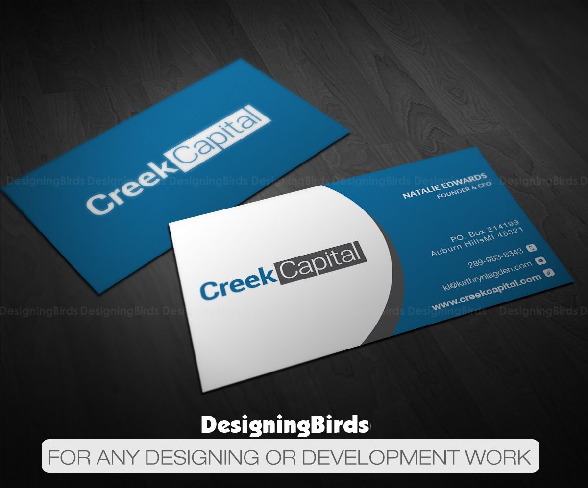 Serious traditional investment business card design for green business card design by designing birds for green coast enterprises design 16056617 reheart Choice Image
