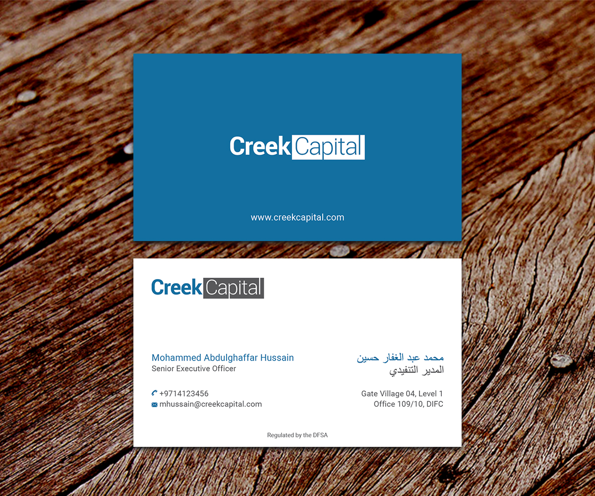Serious traditional investment business card design for green business card design by ssdesigns for green coast enterprises design 16277350 reheart Images