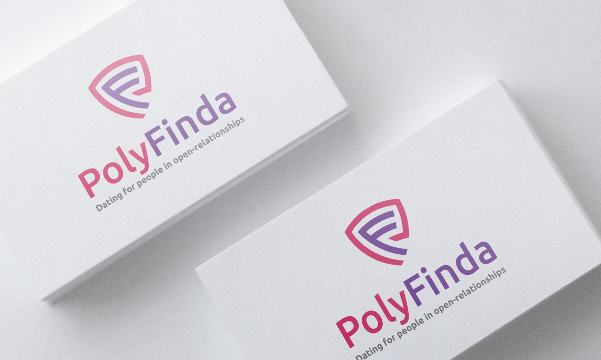 Personable, Feminine, Dating Logo Design for PolyFinda (optional ...