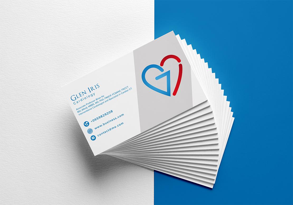 Professional, Modern, Medical Logo Design for Glen Iris Cardiology ...