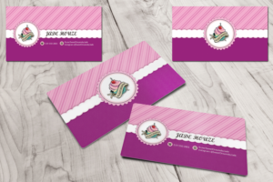 Sweet business card designs 16 sweet business cards to browse sweet dreams rebranding my business with a new business card business card design by dolce colourmoves