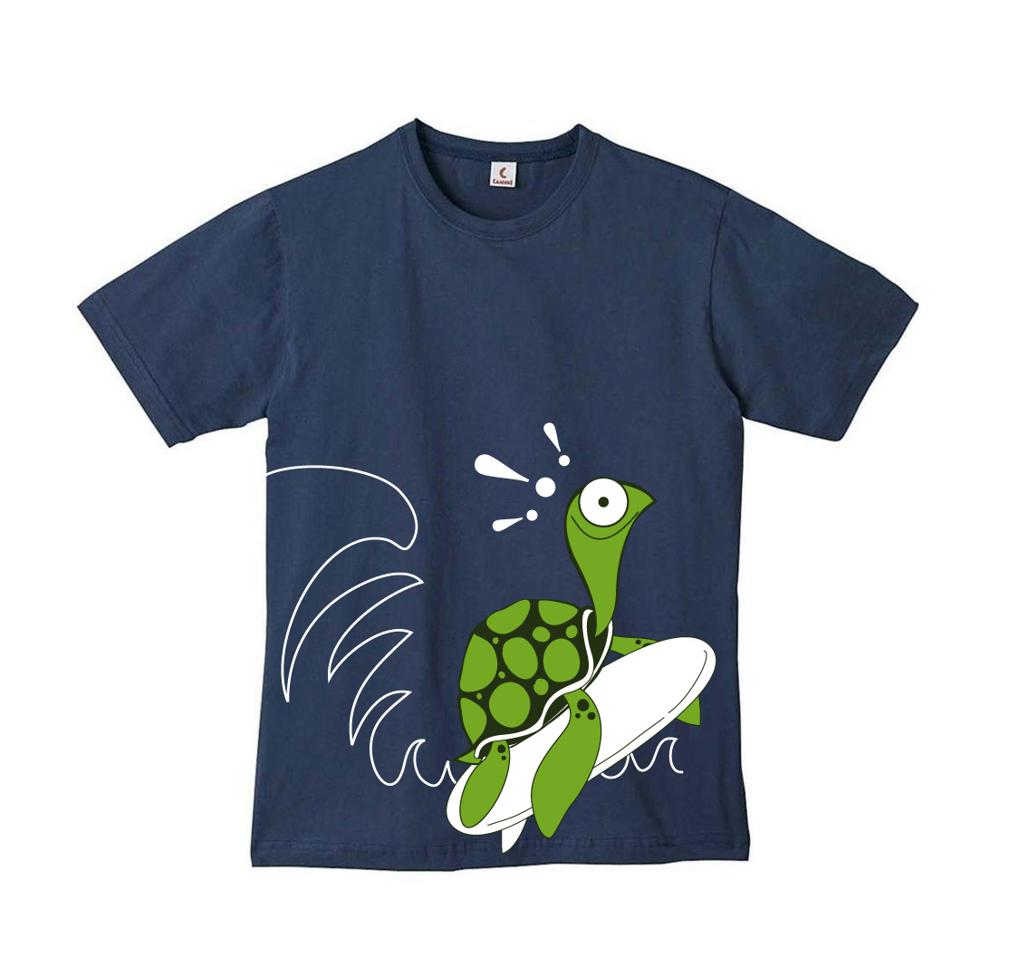 Shirt design needed - T Shirt Design By Eme For Souvenir T Shirt With Sea Turtle Character Needed