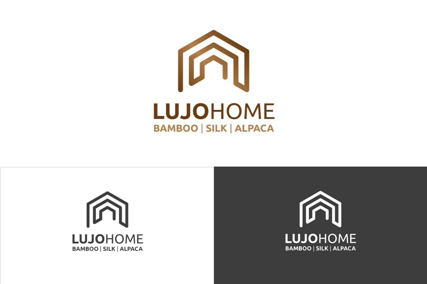 Modern, Upmarket, Home And Garden Logo Design for Lujo Home ...