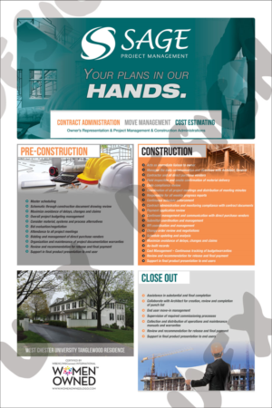 bold professional poster design job poster brief for sage project