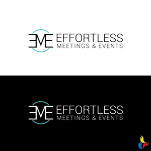 Effortless Meetings & Events or could be Effortless M&E | Logo Design by Kreative Fingers