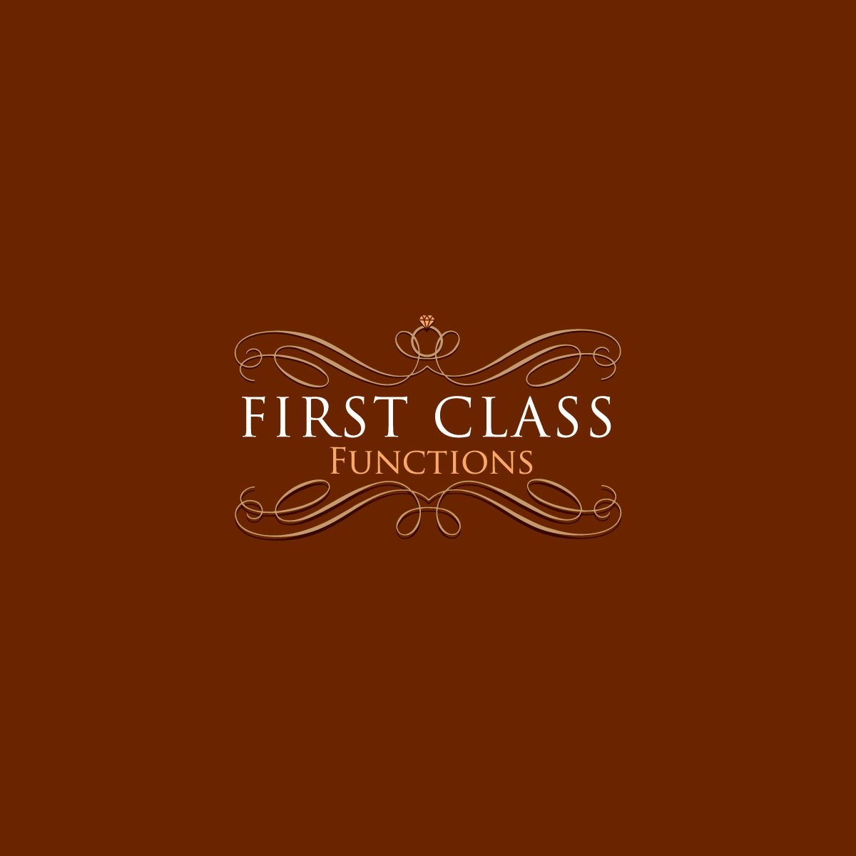 Elegant Professional Events Logo Design For First Class Functions By E Graphics Design 16134462