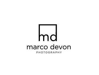 Upmarket Elegant Professional Photography Logo Design For Marco