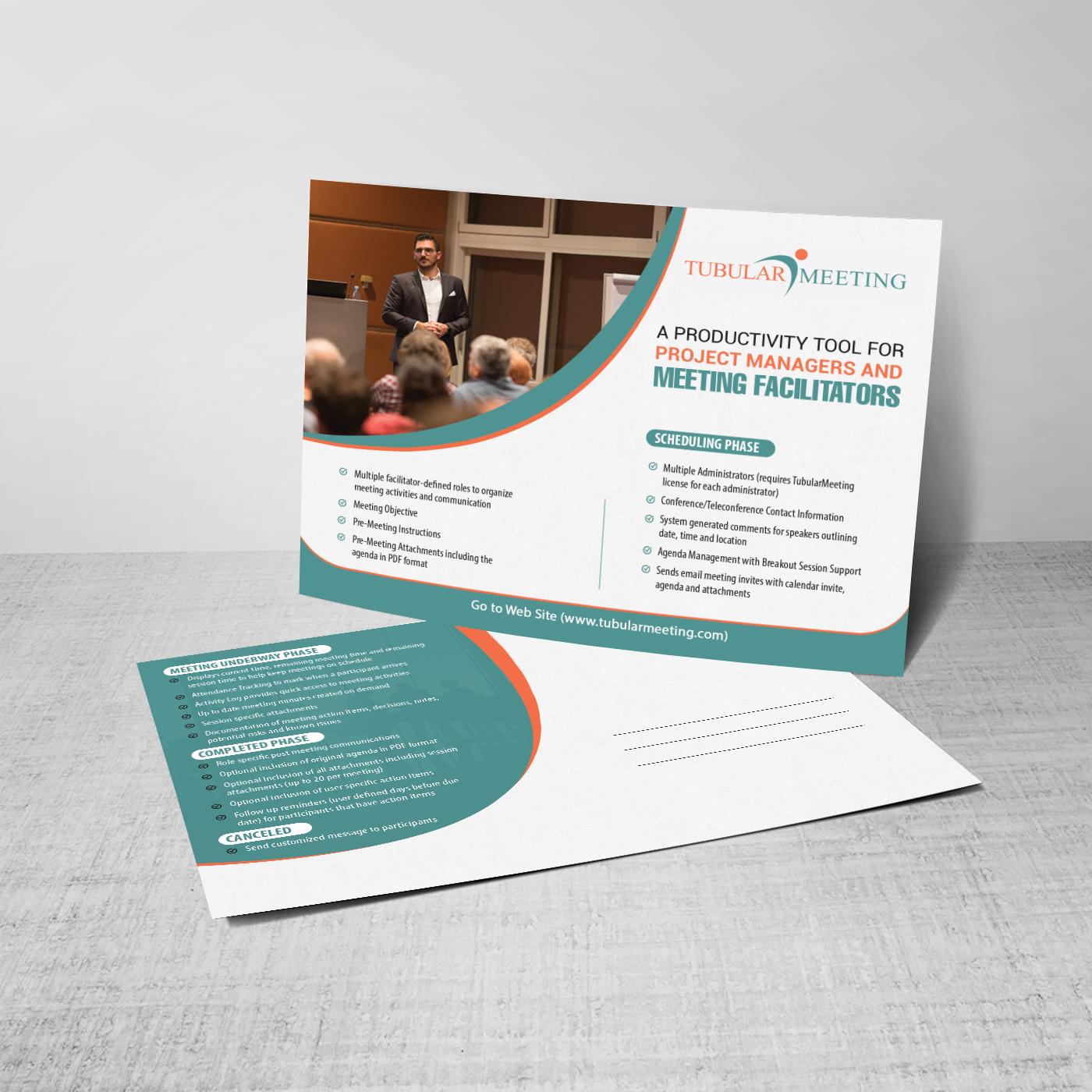 Professional, Modern Postcard Design for Tubular Streams by