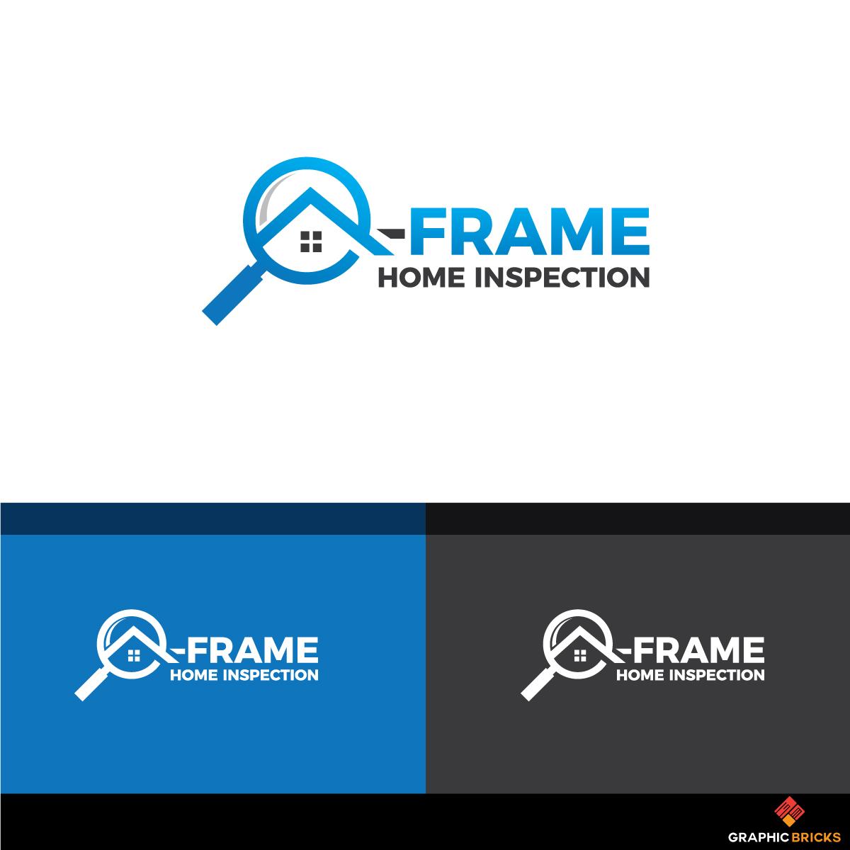 Modern Conservative Home Inspection Logo Design For A