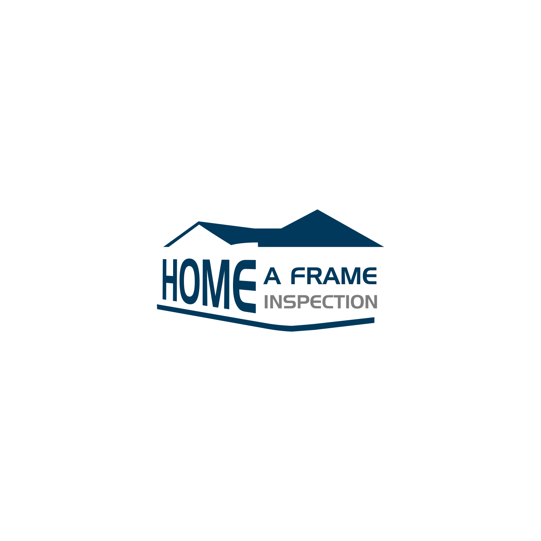 Modern, Conservative, Home Inspection Logo Design for A-Frame Home ...