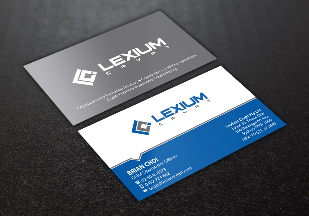 Bold modern business card design for essen capital group by brand bold modern business card design for company in australia design 16161705 reheart Choice Image