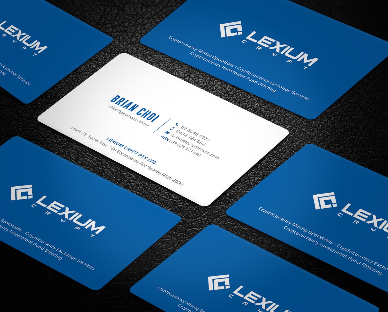 Bold modern business card design for essen capital group by bold modern business card design for company in australia design 16163274 reheart Choice Image