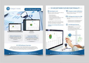 upmarket professional flyer design job flyer brief for intelligent