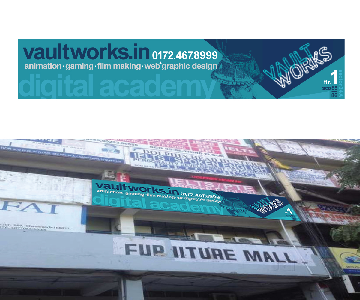 Signage Design By Simon Hon For Signage For Design Academy   Exterior    Design #16190528