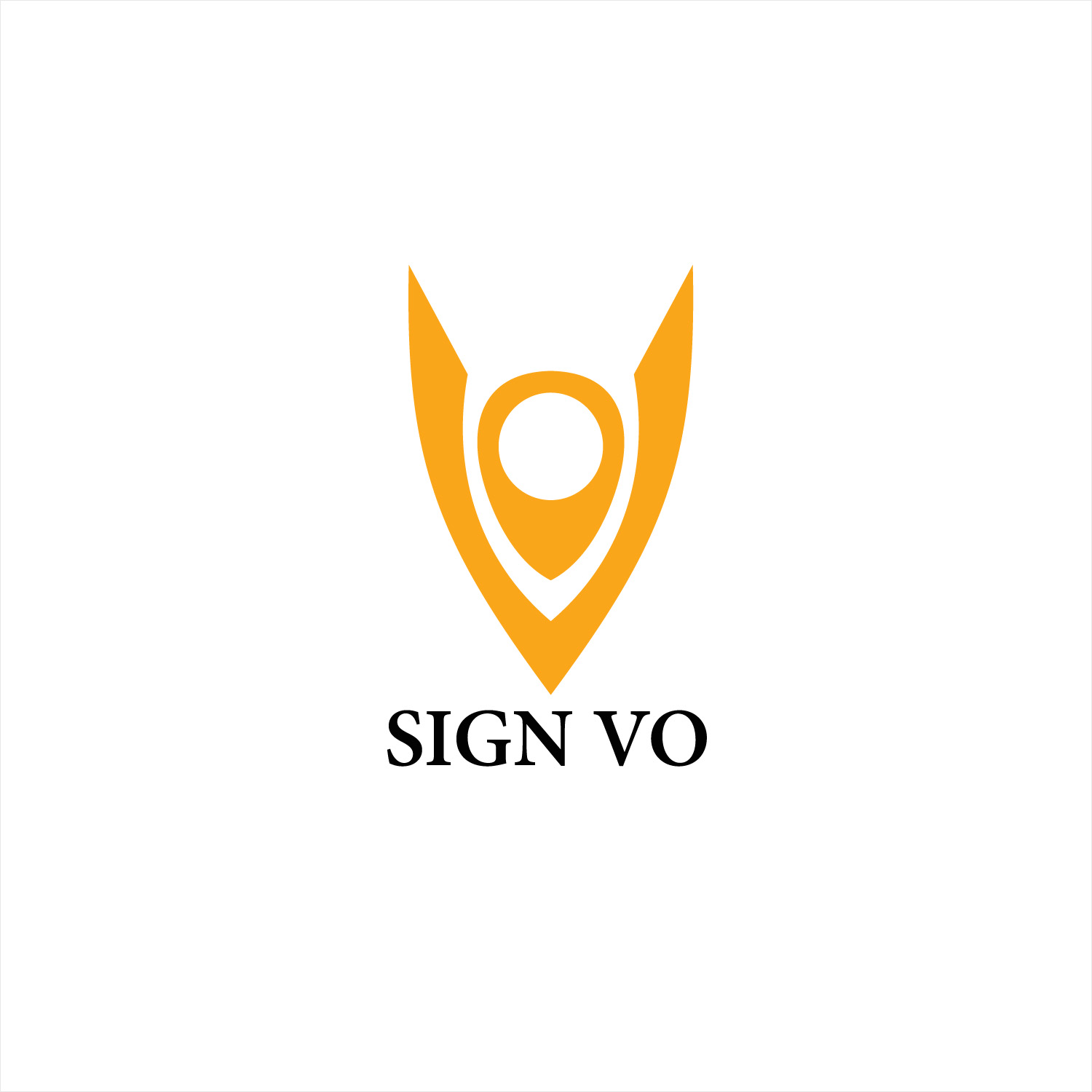 Serious, Modern, Digital Signage Logo Design for SignVO by Weil Jong ...