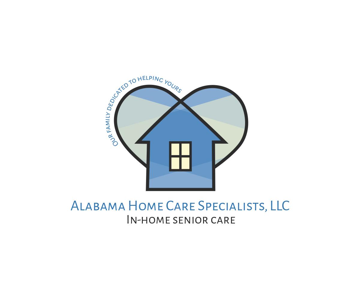Logo Design By Mejlane For Alabama Home Care Specialists | Design #16185399