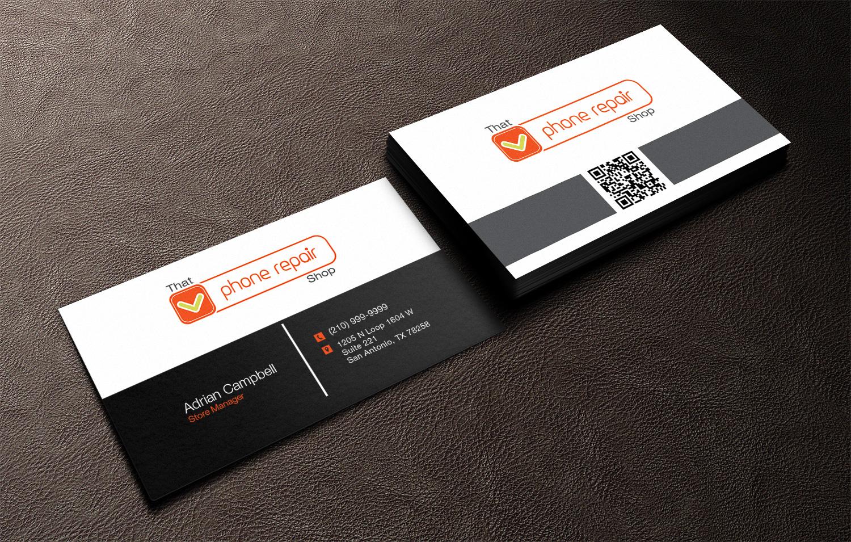 Modern, Bold, Electronics Business Card Design for Handmade Digital ...