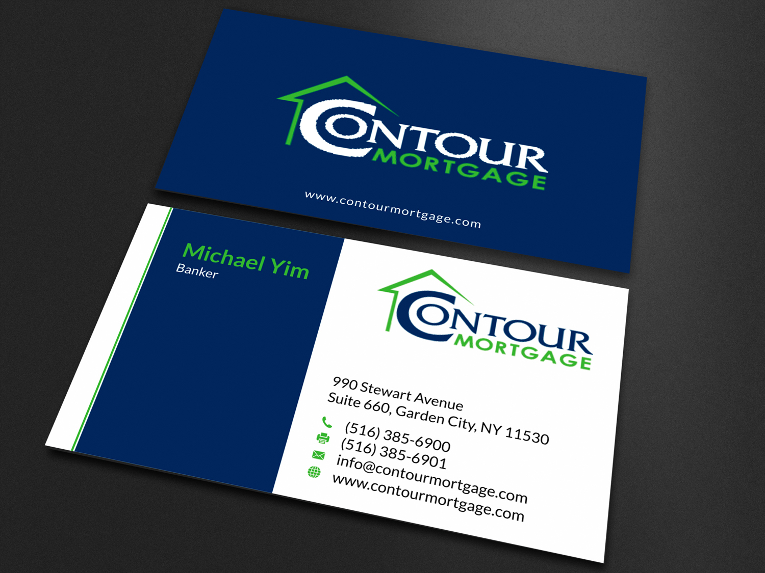 Elegant, Playful, Mortgage Business Card Design for a Company by ...