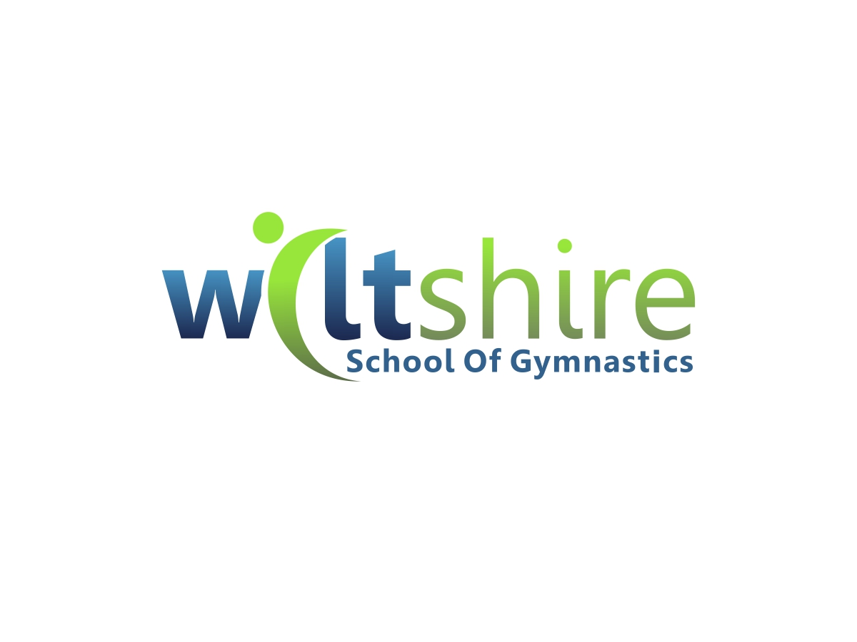 Bold modern embroidery logo design for wiltshire school
