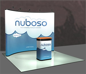 Poster Design job – Trade Booth Design for Cloud Hosting Business – Winning design by Phobos