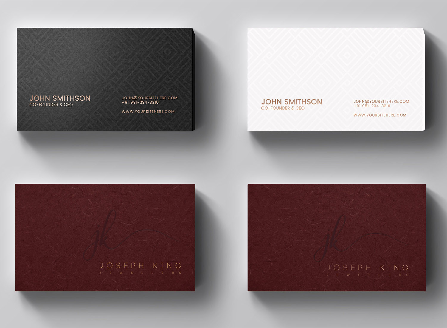 Upmarket Elegant Business Business Card Design For A Company By
