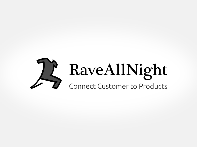 Modern, Professional, Clothing Logo Design for RaveAllNight