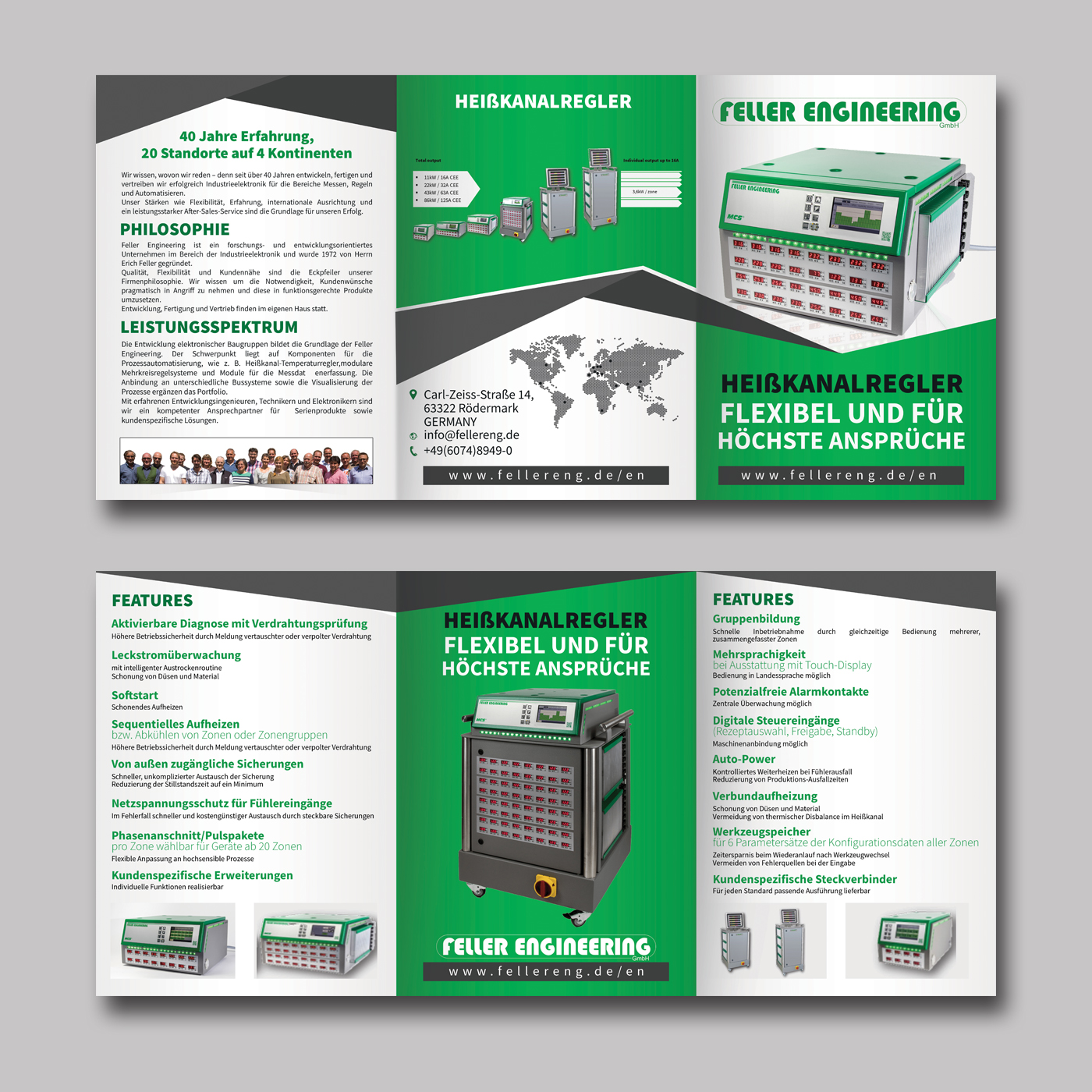 Modern, Professional Flyer Design for Feller Engineering GmbH by ...