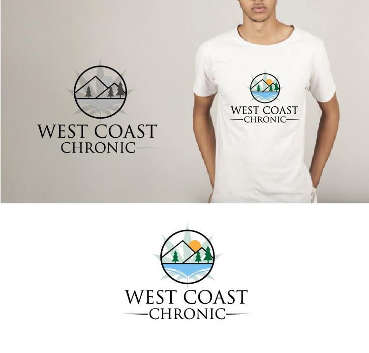 Masculine, Conservative, Clothing Logo Design for West Coast