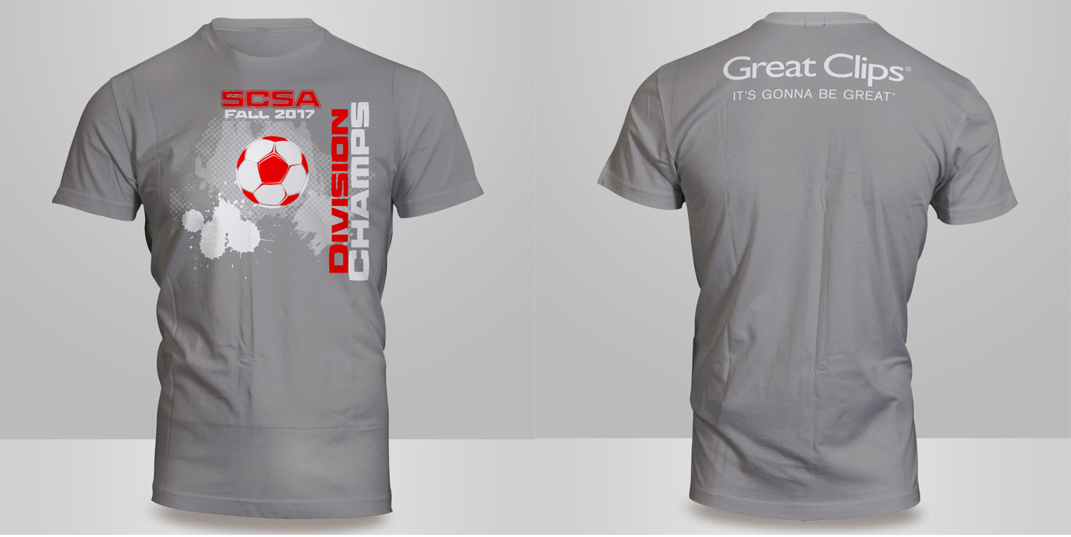 T Shirt Design For Sedgwick County Soccer Association By Kero