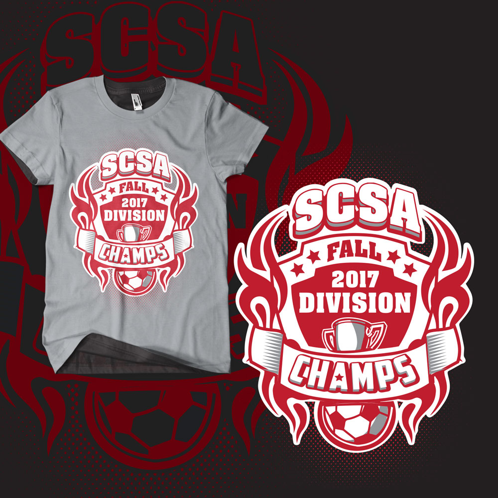 T Shirt Design For Sedgwick County Soccer Association By Hdcreation